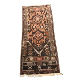 "Vintage Persian Sumac Rug - 2'8""x3'11"""