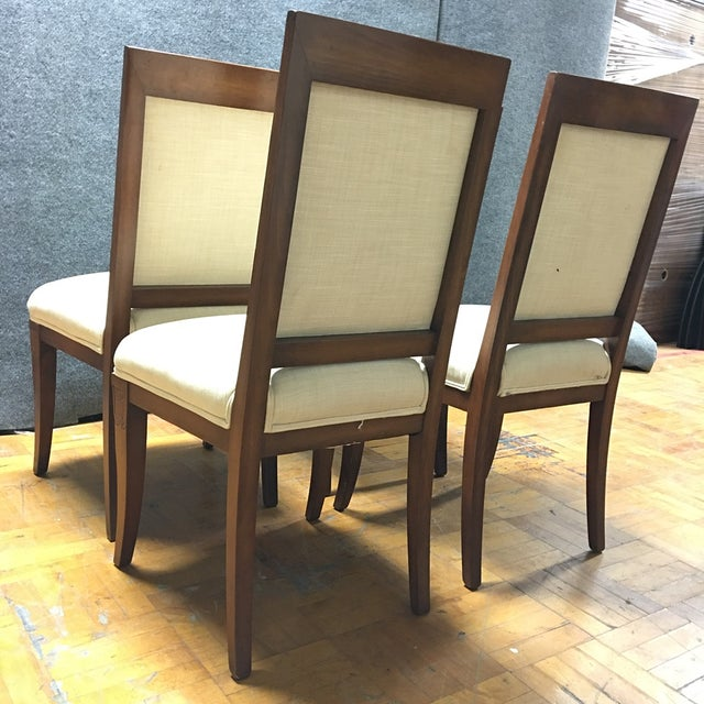 Meyer Gunther Martini Dining Chairs - Set of 4 - Image 3 of 8