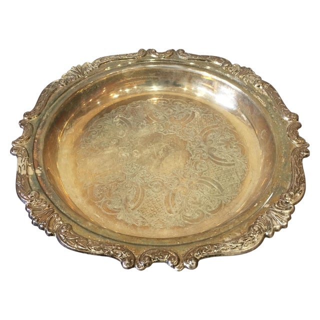Silver Plated Dish - Image 1 of 7