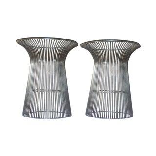 Vintage Knoll Platner-Style Side Tables