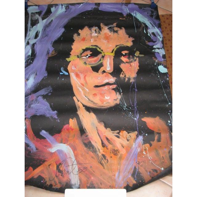 Original Denny Dent Painting - John Lennon - Image 2 of 5
