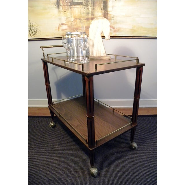 Mid Century Bar Cart or Tea Cart - Image 4 of 7