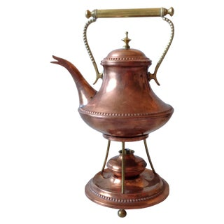 Oscar Nilsson Copper & Brass Tea Kettle