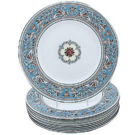 Wedgwood Florentine Dinner Plates - Set of 8