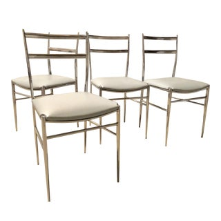 Gio Ponti Style Italian Chairs - Set of 4