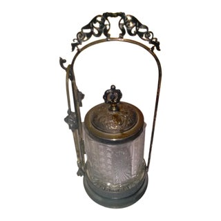 Antique Victorian Pickle Castor Jar