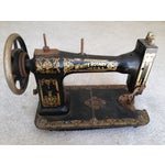 Image of Antique White Rotary 813 Sewing Machine