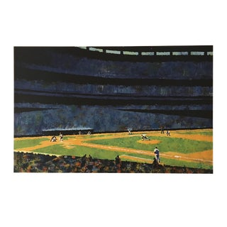 "Howard Koslow ""Sunday at Shea"" Painting"