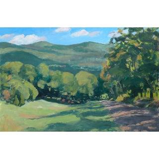 Gravel Road in Vermont Original Painting