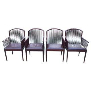 Vintage Davis Allen Andover Chairs by Stendig - set of 4