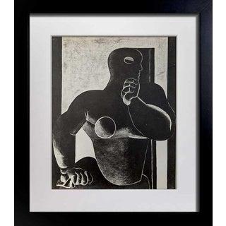 "Le Corbusier ""Figure"" Limited Edition Lithograph"