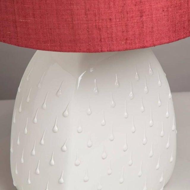 Single Italian Glazed Ceramic Table Lamp, 1960s - Image 3 of 3