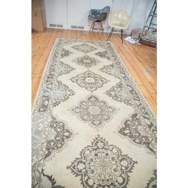 "Distressed Oushak Runner - 5' X 12'10"" - Image 5 of 10"