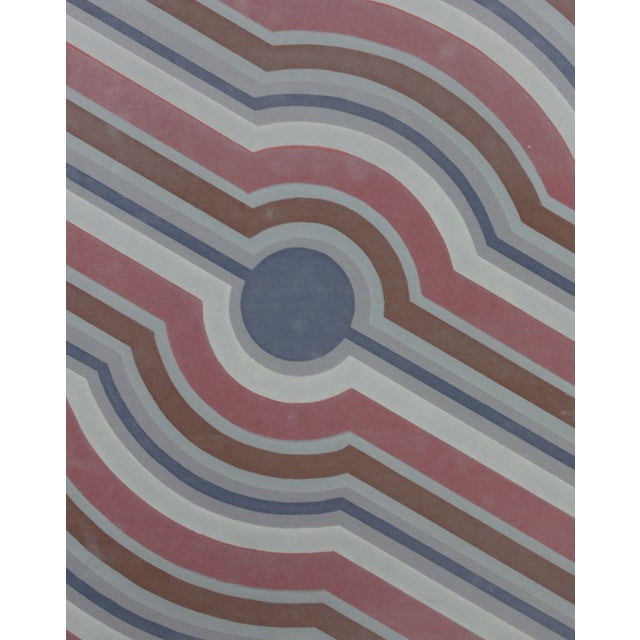Concentric Stripes, C. 1970 - Image 4 of 7