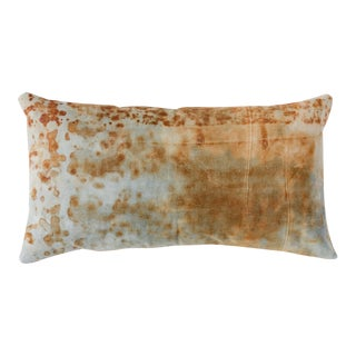 Rusted Canvas Lumbar Pillow