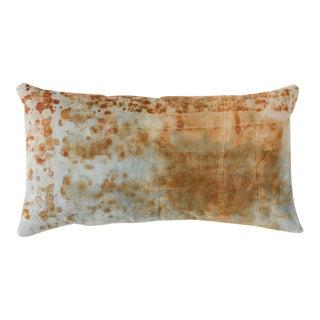Rusted Canvas Lumbar Pillow