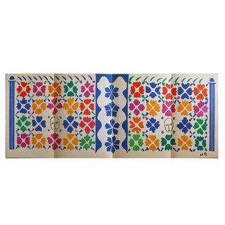 "Henri Matisse ""Decoration Masques"" Lithograph"
