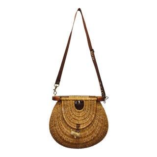 Vintage Trout Fishing Basket