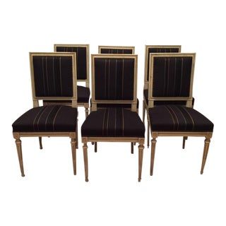 Louis XVI Dining Chairs - Set of 6