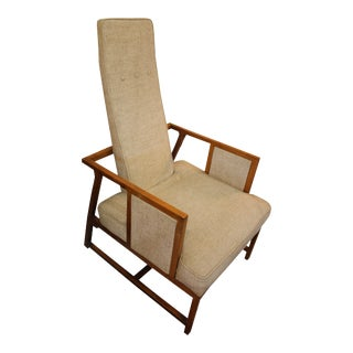 1950's Frank Lloyd Wright Heritage-Henredon Taliesen Group Tall Back Chair