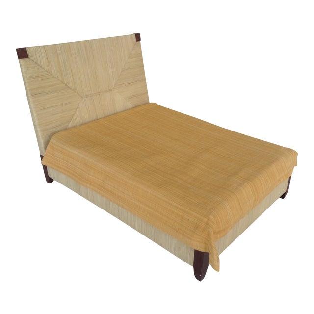 Donghia Merbau Bed Salesman Model/Sample - Image 1 of 8