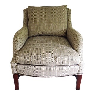 Hickory Club Chair Thomas O'Brien Comfortable Down/Foam Mix Cushions Transitional Style