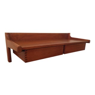 Borge Mogensen Mid-Century Modern Danish Wall Mounted Shelf