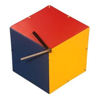 Primary Cube Clock