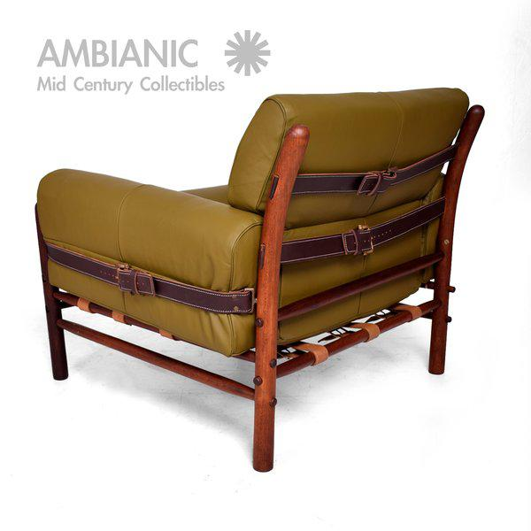 """Arne Norrel """"KONTIKI"""" Pair of Safari Chairs - Image 5 of 11"""