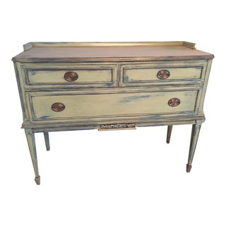 Hand-Painted Vintage Buffet