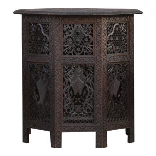 Finely Carved Anglo Indian Table