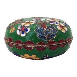 Asian Champlevé Ring Box