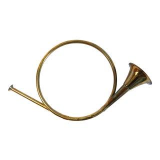 Decorative Brass Horn