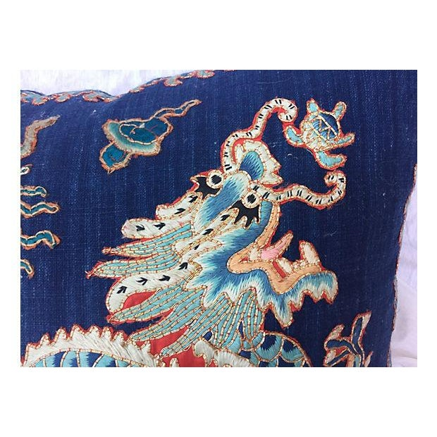 Emperor's Opera Robe Dragon Pillow - Image 4 of 6
