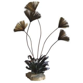 Steck Mid Century Brutalist Urchin Sculpture