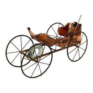 Vintage Wagon Sculpture