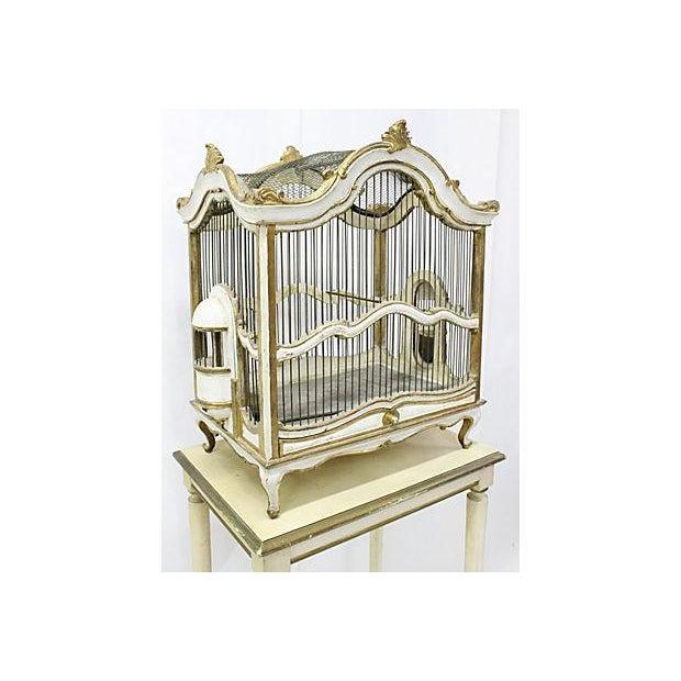 Florentine Birdcage & Pedestal - Image 3 of 7