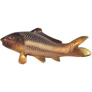 Vintage Brass Fish