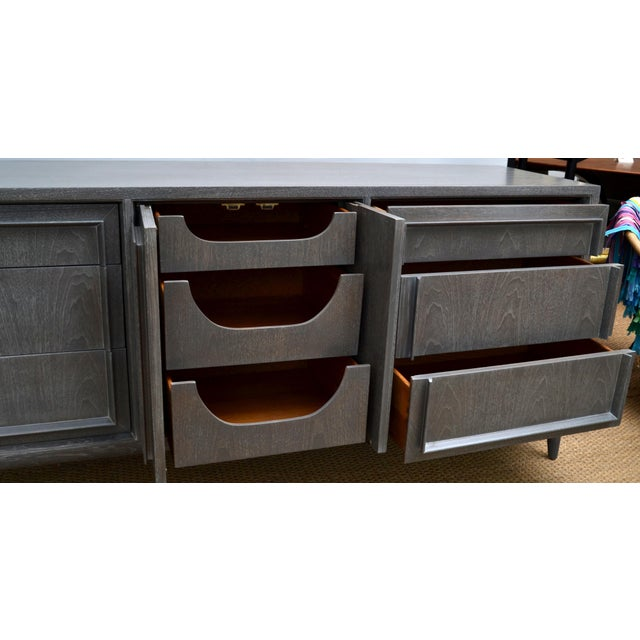 Century Furniture of Distinction Gray Finish Credenza - Image 3 of 7