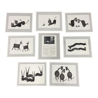 Charles Smith Collection of Signed Block Prints- Set of 8