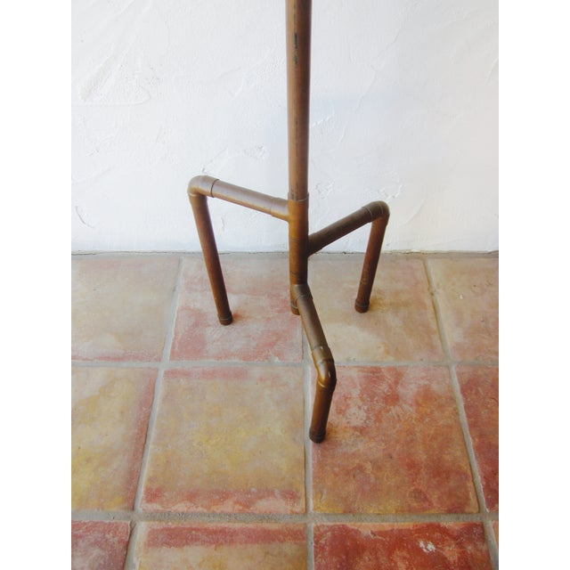 Image of Modernist Copper Coat Rack Hat Tree