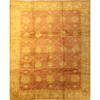 Pasargad N Y Indo Oushak Hand-Knotted Rug - 10' X 12'