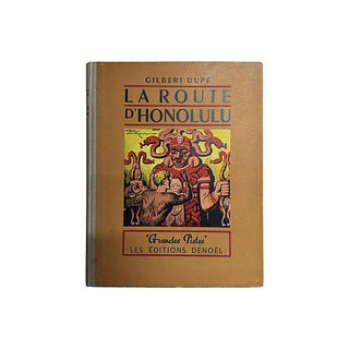 La Route d'Honolulu 1947 Book