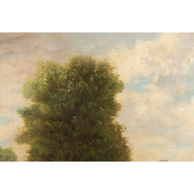 19th-Century Sea Shore Landscape - Image 4 of 10