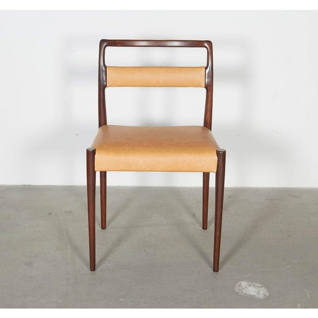 Danish Rosewood Dining Chairs - Set of 4 - Image 7 of 8