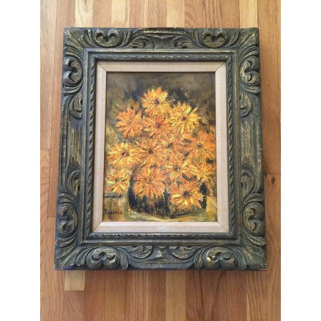 Vintage Framed Still Life Oil Painting - Image 2 of 9