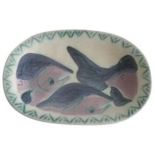 Artisan Salmon Platter by Toni Maury