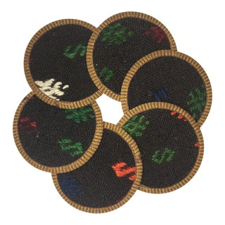 Kilim Coasters Set of 6 | Beyza