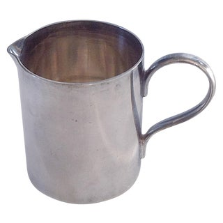 Small English Silver Pitcher