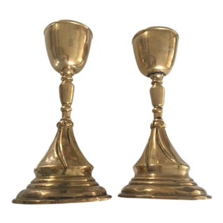 Brass Votive Candle Holders
